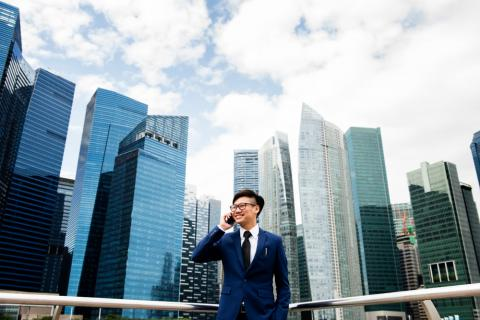 Why does IT offer some of the highest paying jobs in Singapore?